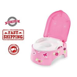 Kyпить Girl Potty Chair Kids Baby Toddler Toilet Training Seat Small Portable Travel на еВаy.соm