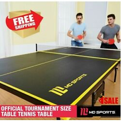 Kyпить Official Size Indoor Tennis Ping Pong Table 2 Paddles and Balls Included NEW на еВаy.соm