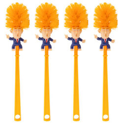 Kyпить 1pk/4pk Donald Trump Toilet Brush Funny Gift Bathroom Cleaner Political Novelty на еВаy.соm