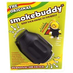 Kyпить Smoke Buddy Original PERSONAL AIR FILTER - BLACK на еВаy.соm
