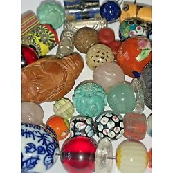 Kyпить Antique & Vintage Group of BEADS, Chinese, Trade More, 50 Beads, SALE! FREE SHIP на еВаy.соm