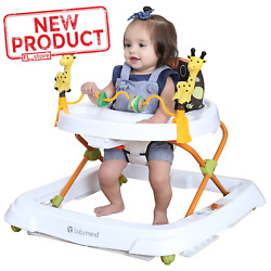 Kyпить Baby Walker Foldable High Back Seat Adjustable Toddler Activity Toys Tray NEW на еВаy.соm