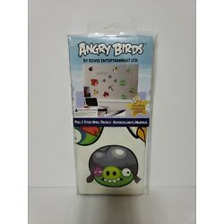 Angry Birds Rovio Entertainment LTD 3p4 Peel & Stick Removable Wall Decals New
