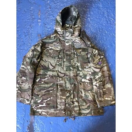 img-MTP CAMO WINDPROOF FR AIRCREW SMOCK JACKET - Size: 200/112 British Issue NEW