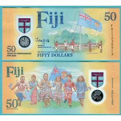 Kyпить Fiji 50 Dollars 2020 UNC**New - Polymer / Commemorative на еВаy.соm