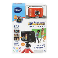 Kyпить KIDIZOOM Creator Cam VTECH Green Screen HD VIDEO CAMERA For Kids TRIPOD INCLUDED на еВаy.соm