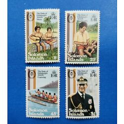 Kyпить Solomon Islands Stamps, Scott 453-456 Complete Set MNH  на еВаy.соm