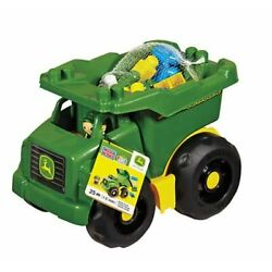 Kyпить NEW Mega Bloks John Deere big green Dump Truck 25 building blocks  на еВаy.соm