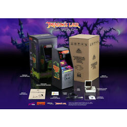 Kyпить *NIB* SOLD OUT Dragons Lair RepliCade New Wave Toys 1/6 Scale Cabinet +KEYCHAIN на еВаy.соm