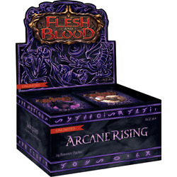 Kyпить FLESH AND BLOOD Arcane Rising Unlimited Booster Box на еВаy.соm
