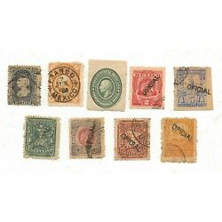 Kyпить  MEXICO  EARLY ERA   (7) OFICIAL  STAMPS and (2) Regular mail / USED LOT # 8 на еВаy.соm