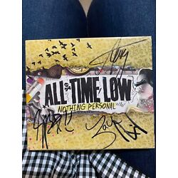 Kyпить Signed 'Nothing Personal' by All Time Low (all members signed) на еВаy.соm