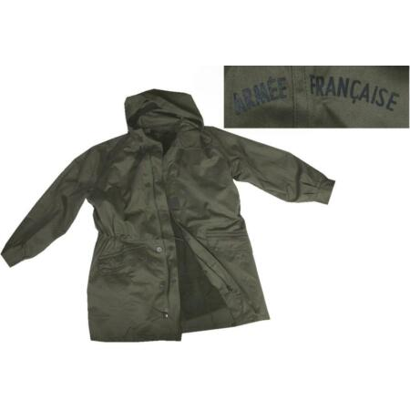 img-Gr.52 Original French Parka with Hood Olive Work Jacket Outdoor Jacket