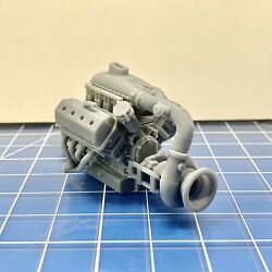 Kyпить Resin Hemi Pro Line Mod Racing Turbo Motor Engine for Model Kits 1/24 1/25 на еВаy.соm