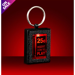 Kyпить Cool Arcade Replicade Insert Coin KeyChain Light-Up New Wave Toys Videogame Gift на еВаy.соm