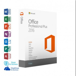 Kyпить MICROSOFT®OFFICE®2016 Professional Plus 32/64 Key and download INSTANT DELIVERY! на еВаy.соm