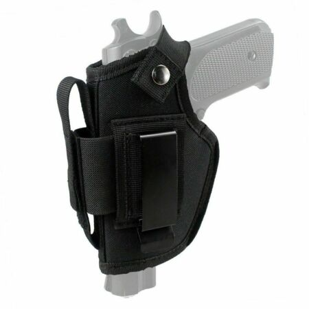 img-Pistol Hand Gun Holster Concealed Carry Clip Case Belt For GLOCK 17/19/20/21/22