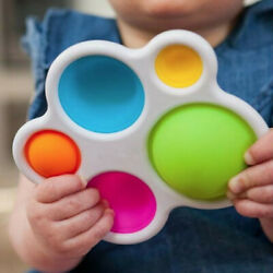 Kyпить Baby Simple Dimple Sensory Fidget Toy Silicone Flipping Board  Kids Adult Gift на еВаy.соm