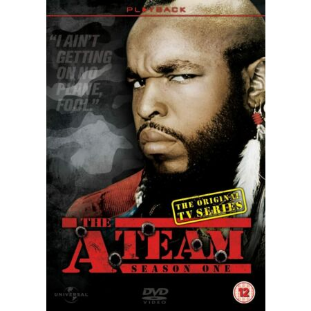img-DVD THE A TEAM SEASON ONE 1 - TV television SERIES PROGRAMME NEW SEALED *