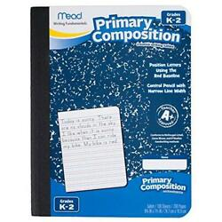 Mead Primary Composition Notebook, Wide Ruled Comp Book, Lined Paper, Grades K-2