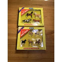 Kyпить Breyer Stablemates Collection Horses NEW #5981 & #5982 Lot Of 2 Sealed Boxes на еВаy.соm