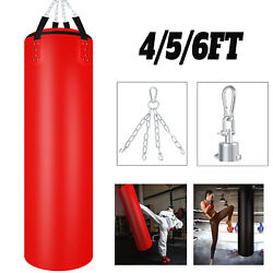 Kyпить Heavy Duty 110LBs Muay Thai Haning Punching Bag PU Leather w/Bold Metal Chain на еВаy.соm
