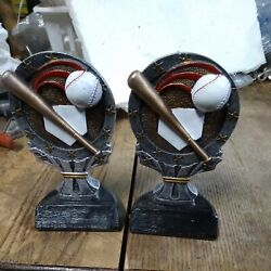 Kyпить 2--NOS--RESIN BASEBALL ENGRAVEABLE AWARDS/DECOR--NEW--AWESOME DETAIL на еВаy.соm