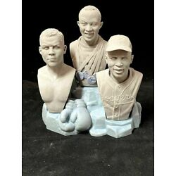 Kyпить Jesse, Jackie, & Joe Bust Set Commemorating Black History Month Unpainted microM на еВаy.соm