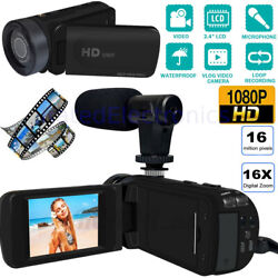 Kyпить HD 1080p Digital Video Camera YouTube Live Stream Vlogging Recorder Microphone на еВаy.соm