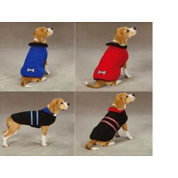 Dog Puppy Jacket Thermal - Guardian Gear - Reflective & Reversible - Red XS