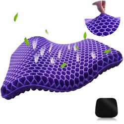 Kyпить Gel Seat Cushion, Non-Slip Cover, Egg sitting Cushion Breathable Spine Back Pain на еВаy.соm