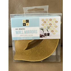 Lips Self-Adhesive DCWV Wall Mirrors Home Décor 20 pieces New View