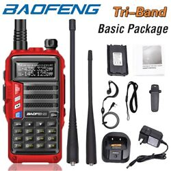 Kyпить Baofeng UV-S9 Tri-band UHF/VHF Walkie Talkie Two Way Radio FM Ham Long Range 8W на еВаy.соm