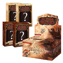 Kyпить PRE-SALE: Flesh and Blood Monarch Unlimited Bundle: 1 Booster Box + 4 Blitz Deck на еВаy.соm