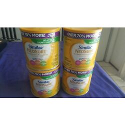 Kyпить SEALED Lot of 4 Similac Neosure Infant Baby Formula Powder 22.8oz Exp 11/2022 на еВаy.соm