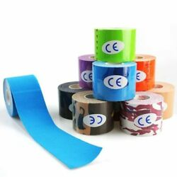Kinesiology Athletic Recovery Elastic Tape Kneepad Muscle Pain Relief Support
