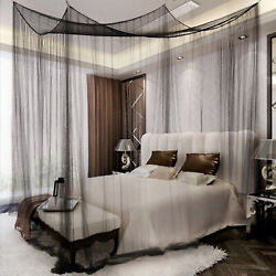Kyпить 4 Corner Post Bed Canopy Elegant Curtain Mosquito Net Full/Queen/King Size Bed на еВаy.соm
