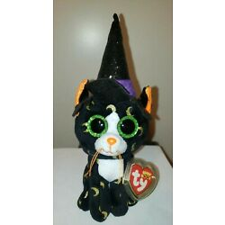 Ty Beanie Boos - PANDORA the Halloween Cat (6-7 Inch) NEW - MINT with MINT TAGS