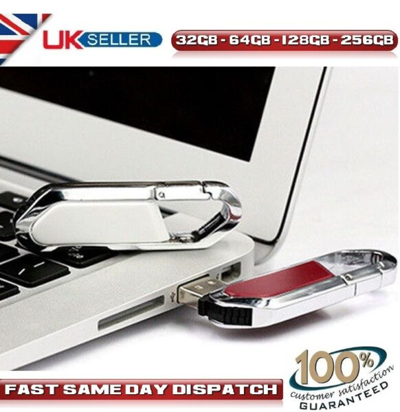 United Kingdom High Speed Flash Pen Thumb Drive Memory Stick 32GB 64GB 128GB 256GB 512GB