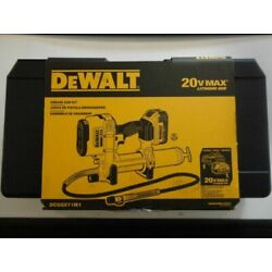 Kyпить Dewalt DCGG571M1 20V MAX Cordless Grease Gun With Battery & Charger New USA на еВаy.соm