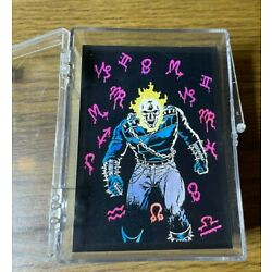 Kyпить 1992 Marvel Ghost Rider Trading Card Set And Sticker на еВаy.соm