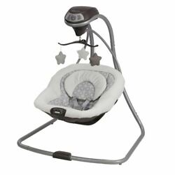 Kyпить Graco Simple Sway Baby Swing, Abbington Infant Bouncer Seat Swaying Relaxation на еВаy.соm