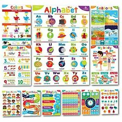 Kyпить Educational Posters for Toddlers Classroom Decorations Learning Decor Preschool на еВаy.соm