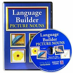 Kyпить Stages Learning Language Builder Picture Noun Autism Software for ABA Therapy... на еВаy.соm