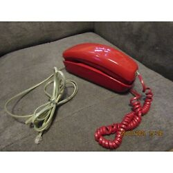 Kyпить Nice vintage Western Electric Trimline Red Hot Rotary Dial Telephone-Works great на еВаy.соm