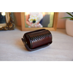 Kyпить Ramsay's leather cylinder one dollar size Scotty York style coin magic NEW PRICE на еВаy.соm