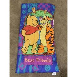 Kyпить Vintage Winnie the Pooh Best Friends Kids Sleeping Bag - Camping Sleepovers на еВаy.соm
