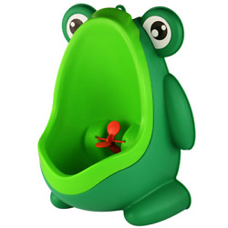 Kyпить Potty Training Urinal For Toddler Baby Boys Frog Pee Training Funny Trainer NEW на еВаy.соm