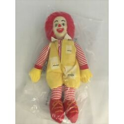 "Kyпить vintage mcdonalds toys Ronald McDonald 11"" Plush 1996 New на еВаy.соm"
