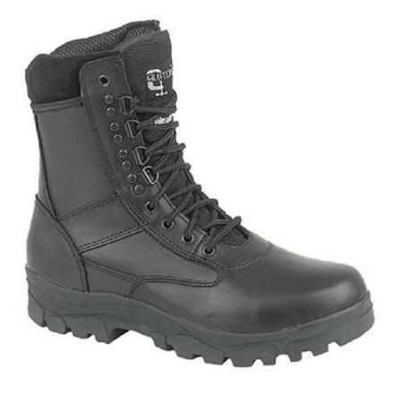 img-Grafters Combat Top Gun Mens Leather Security Army Military Boots Size UK 7-12